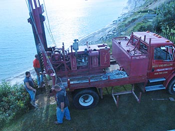 West End Drilling team at work