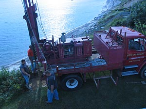 Drilling, installing and developing a new well